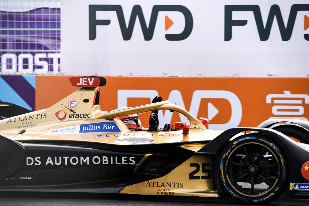 Vergne DS Techeetah Formula E