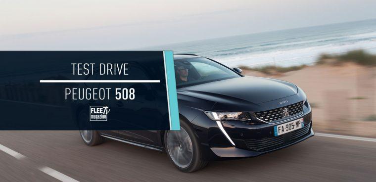 test drive Peugeot 508 berlina