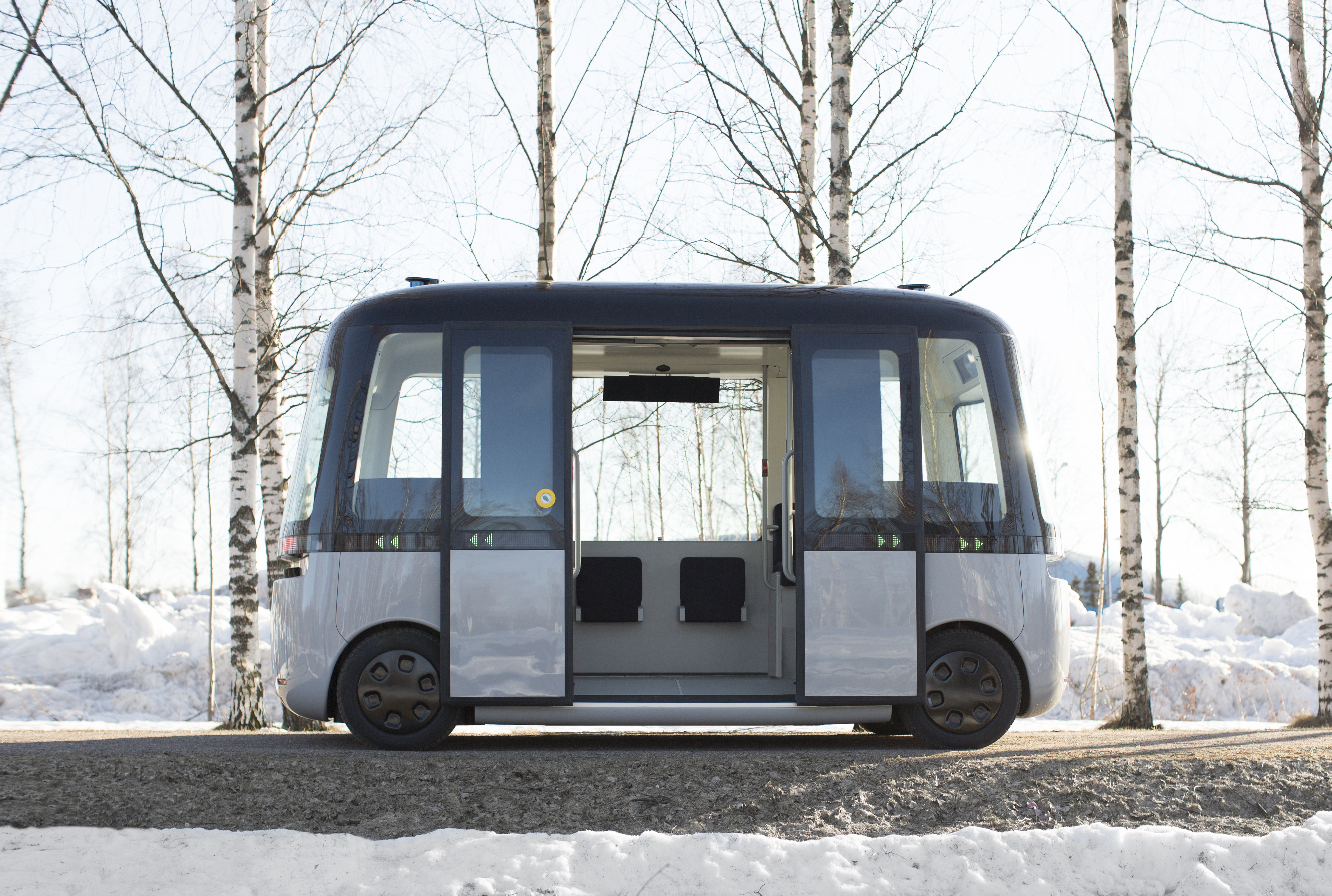 Gacha è la nuova navetta a guida autonoma senza conducente