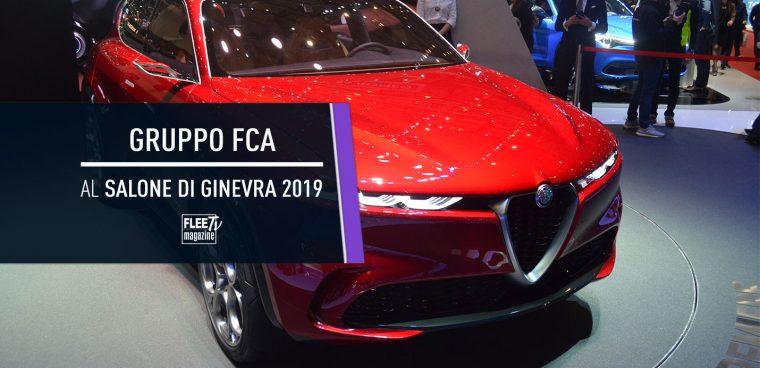 Le novità del Gruppo FCA al Salone di Ginevra 2019