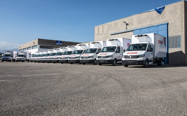 Morini Rent amplia la sua flotta di furgoni refrigerati con Volkswagen Crafter e l'allestimento Lamberet