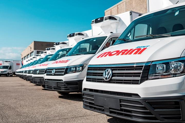 Morini Rent amplia la sua flotta di furgoni refrigerati con Volkswagen Crafter