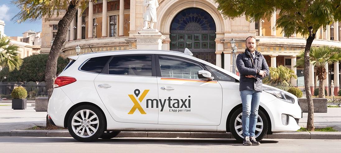 la App di mytaxi anche a Palermo