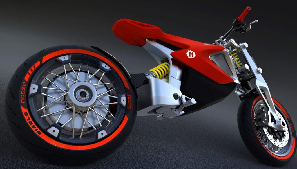 Nito N4 Urban Motard elettrica tra le novità moto 2019