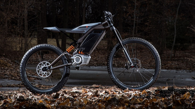 Prototipo Mountain Bike elettrica Harley Davidson 2019