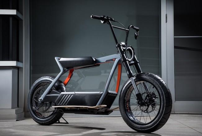 Prototipo scooter elettrico Harley Davidson 2019