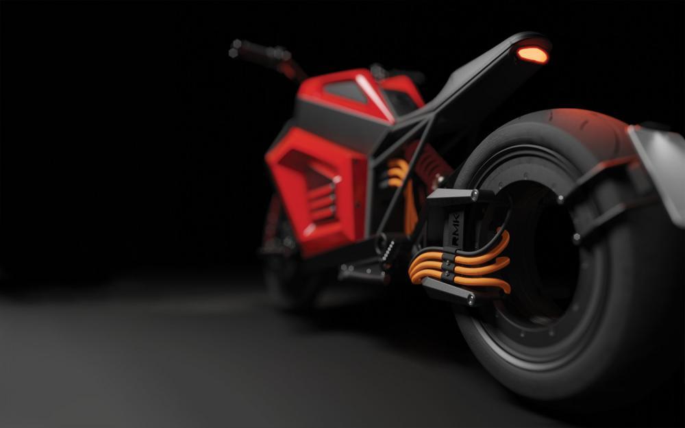RMK E2 la prima moto elettrica dotata di ruota-motore 2019
