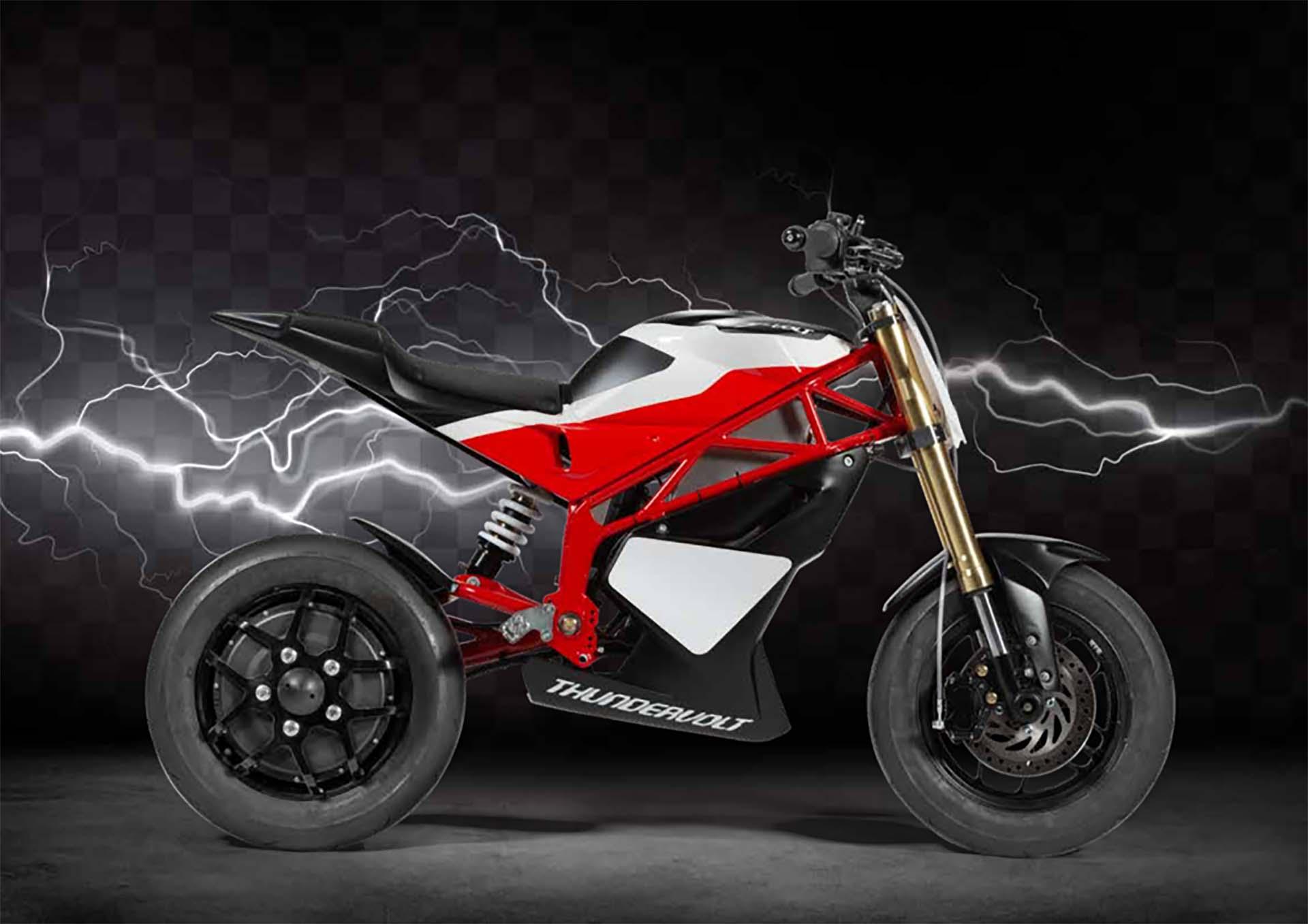 Thundervolt NK-E di Loris Reggiani, la mini moto elettrica, novità 2019