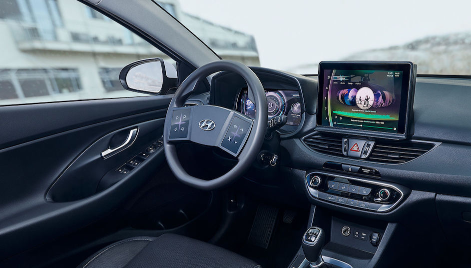 Abitacolo virtuale Hyundai