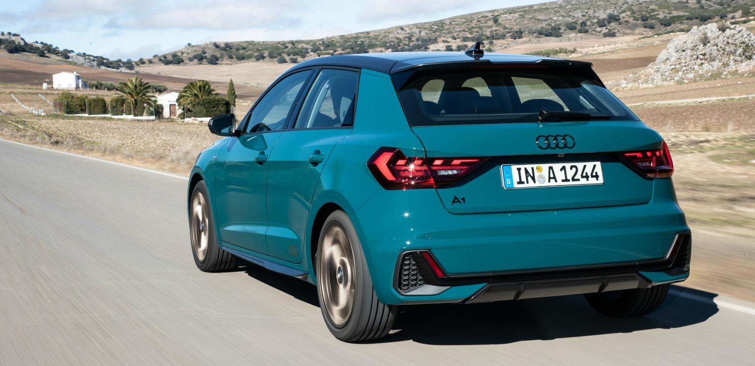 Allestimenti nuova Audi A1 Sportback