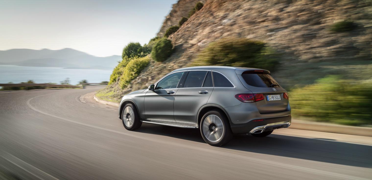 Assetto nuovo Mercedes GLC