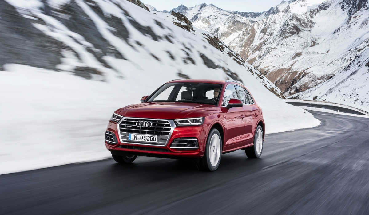 Audi Q5 2019 su strada