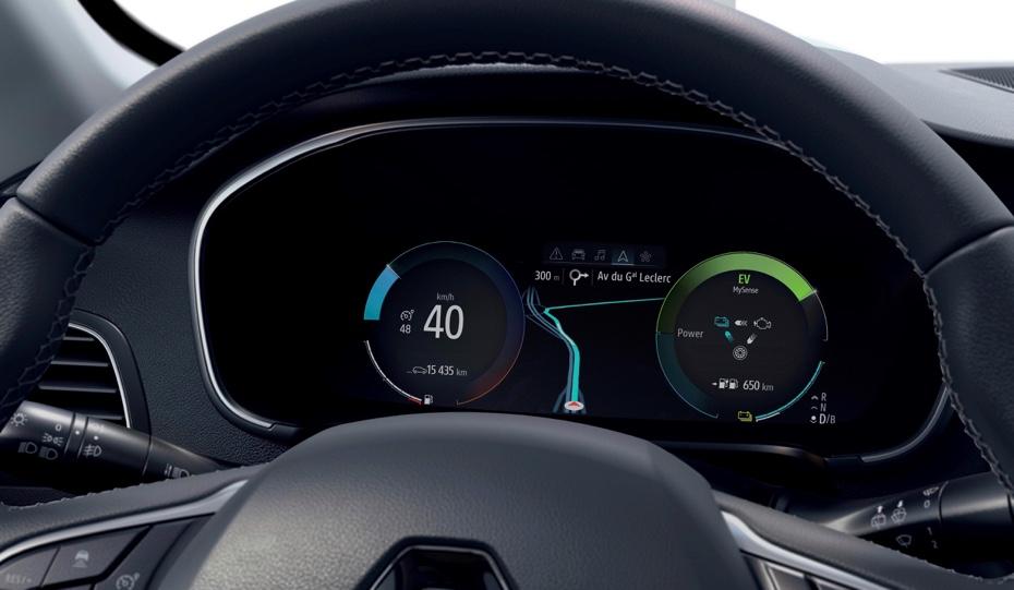Autonomia di Renault Megane e-tech ibrida