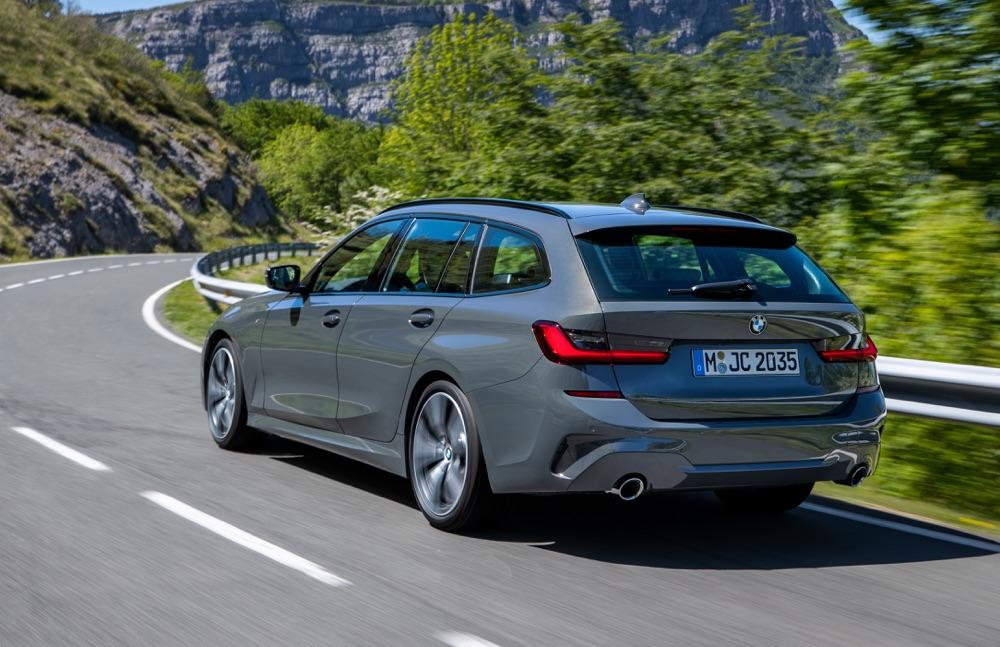 Consumi di Nuova BMW Serie 3 Touring Diesel