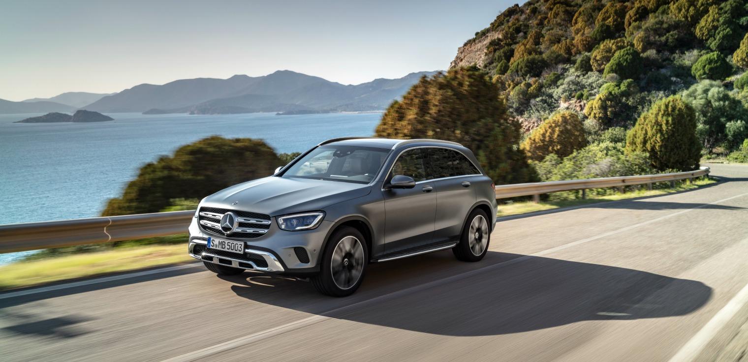 Esterni nuovo Mercedes GLC