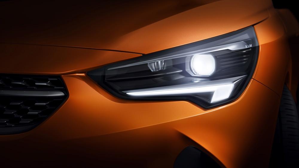 Fari Intellilux di nuova Opel Corsa