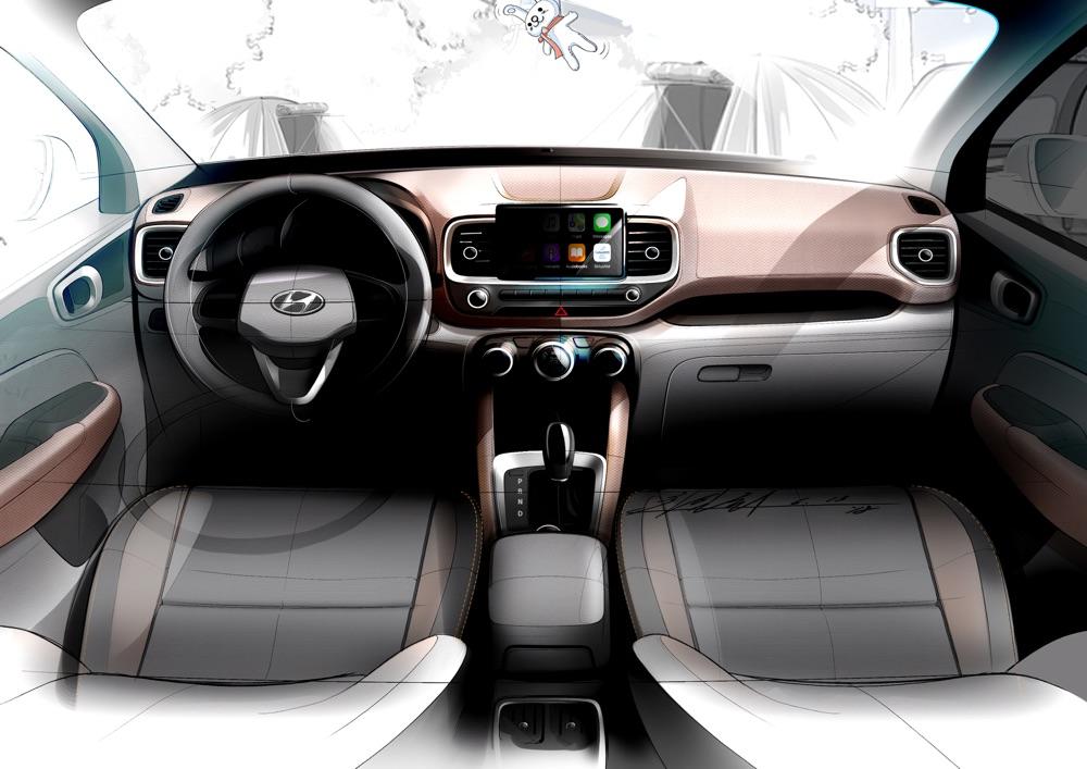 Hyundai Venue con Apple CarPlay