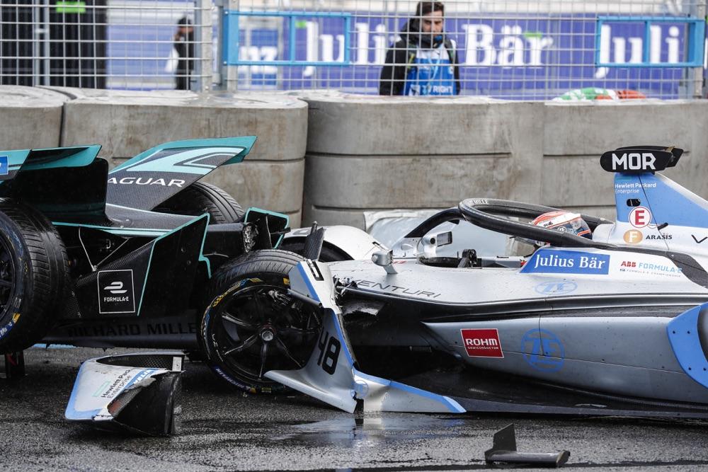 Incidenti Formula E Parigi