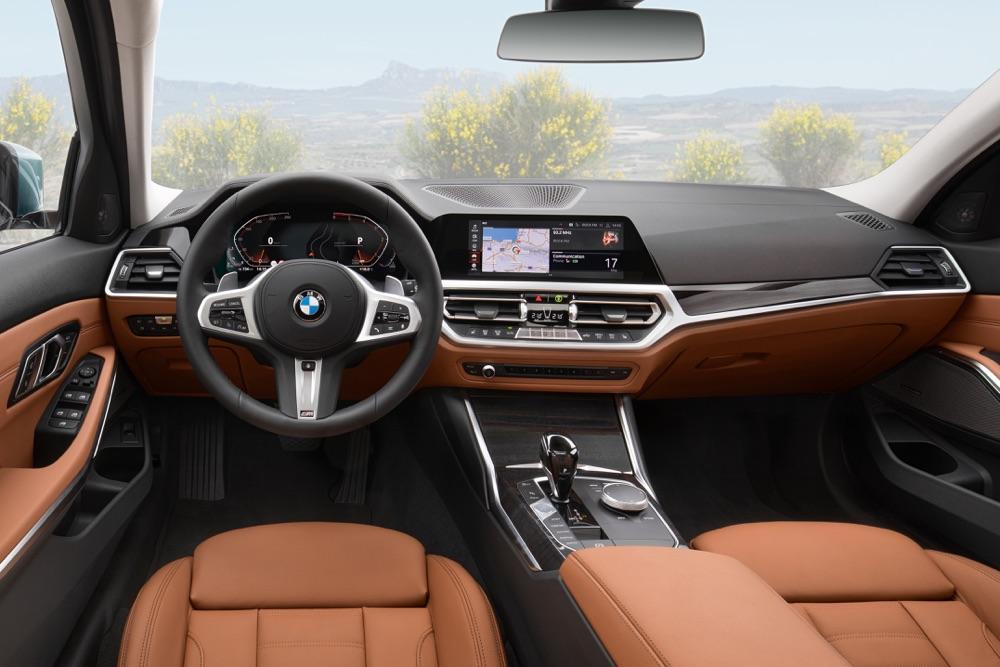 Interni di Nuova BMW Serie 3 Touring