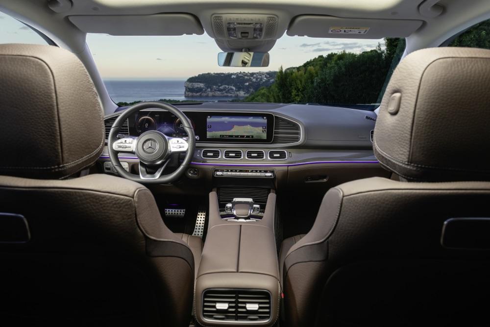 Interni di Nuova Mercedes GLS