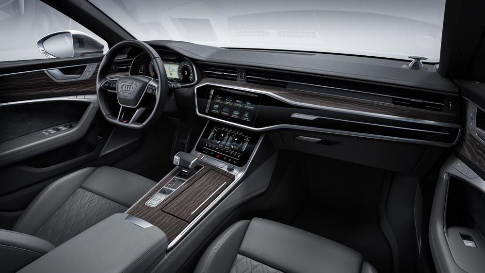 Interni di nuova Audi S6 TDI