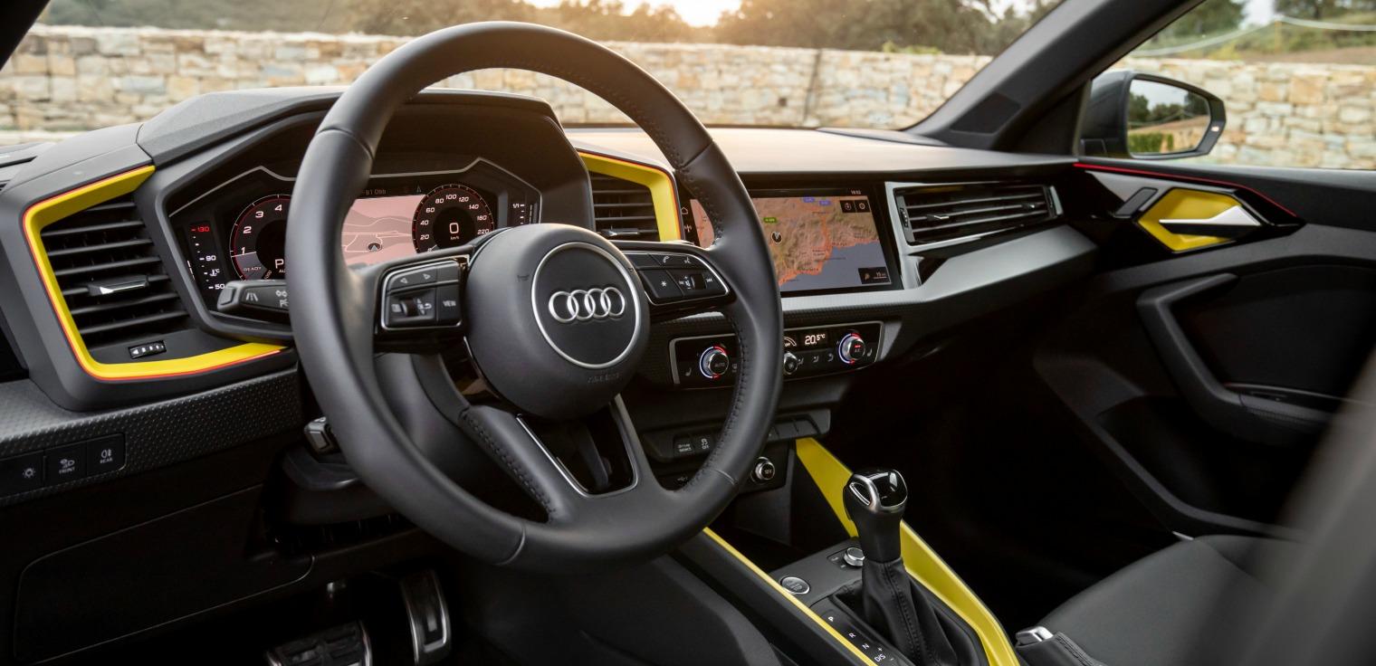 Interni nuova Audi A1 Sportback