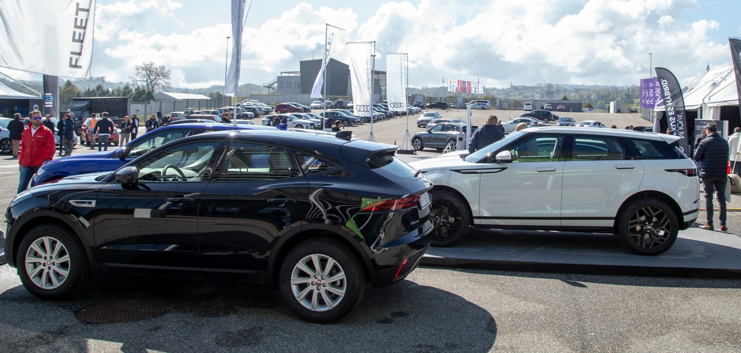 Jaguar Land Rover Fleet Motor Day 2019