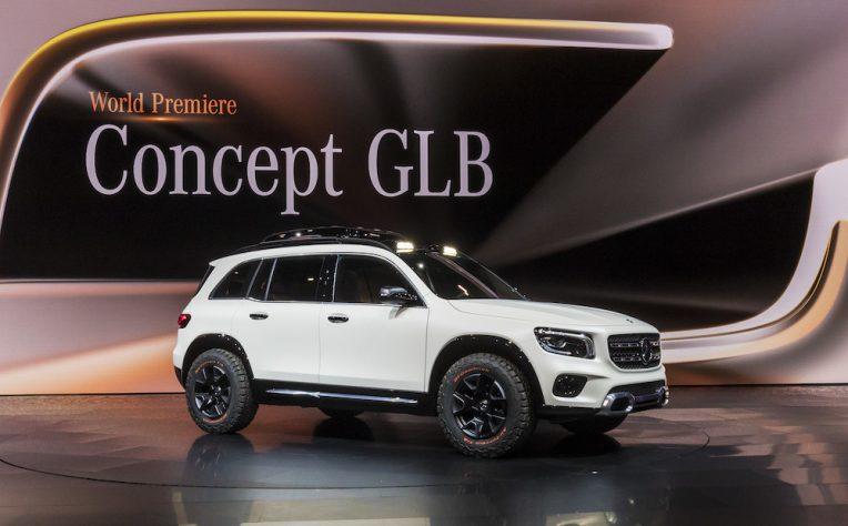 Mercedes GLB Concept al Salone di Shanghai