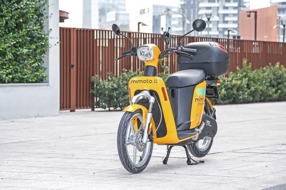 Sharing Mobility Milano: MiMoto