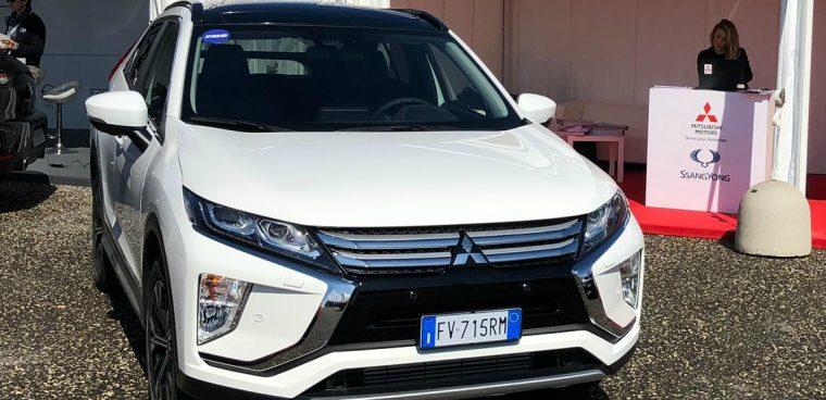 Nuova Mitsubishi Eclipse Cross Diesel Fleet Motor Day 2019