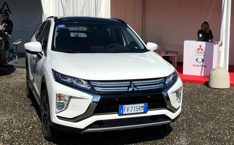 Nuova Mitsubishi Eclipse Cross Diesel Fleet Motor Day 2019