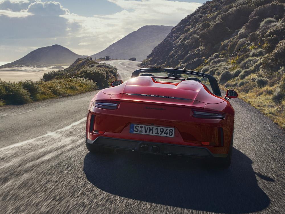Motore di Porsche 911 Speedster 2019