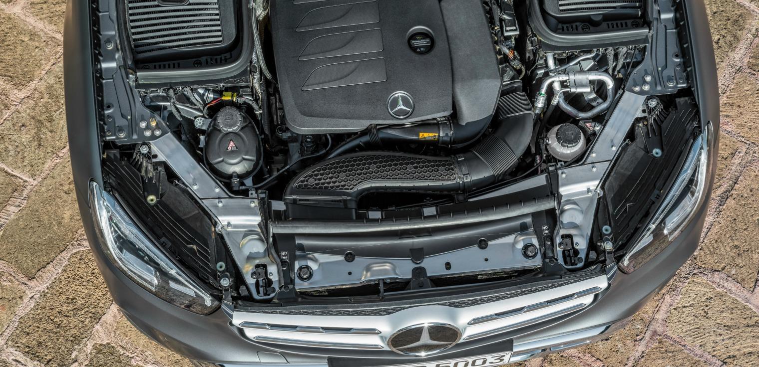 Motori nuovo Mercedes GLC