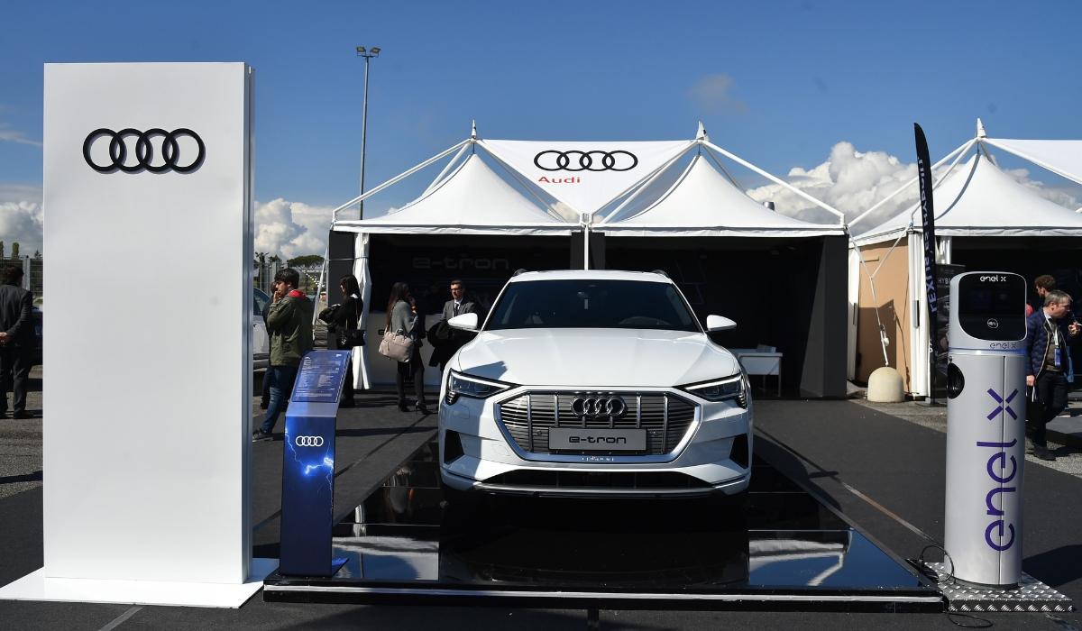 Nuova Audi e-tron presentazione Fleet Motor Day 2019
