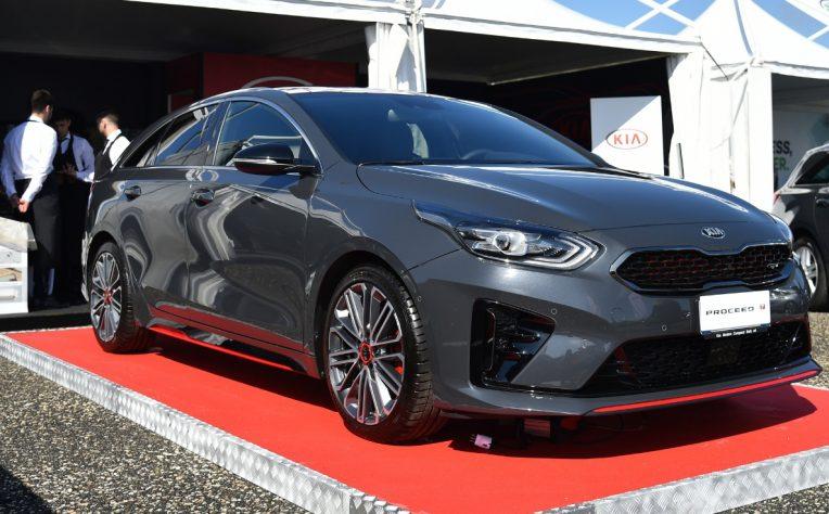 Nuova Kia ProCeed 2019 statica