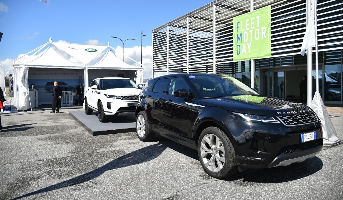 Nuova Land Rover Range Rover Evoque flotte aziendali