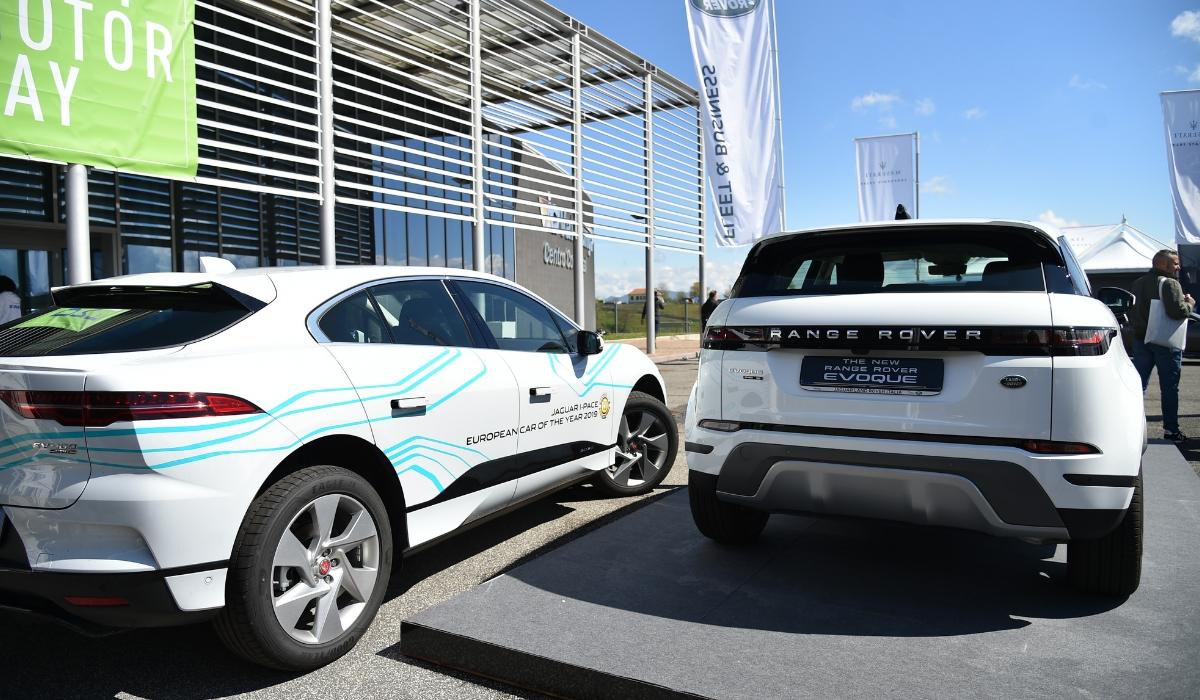 Nuova Land Rover Range Rover Evoque al Fleet Motor Day 2019