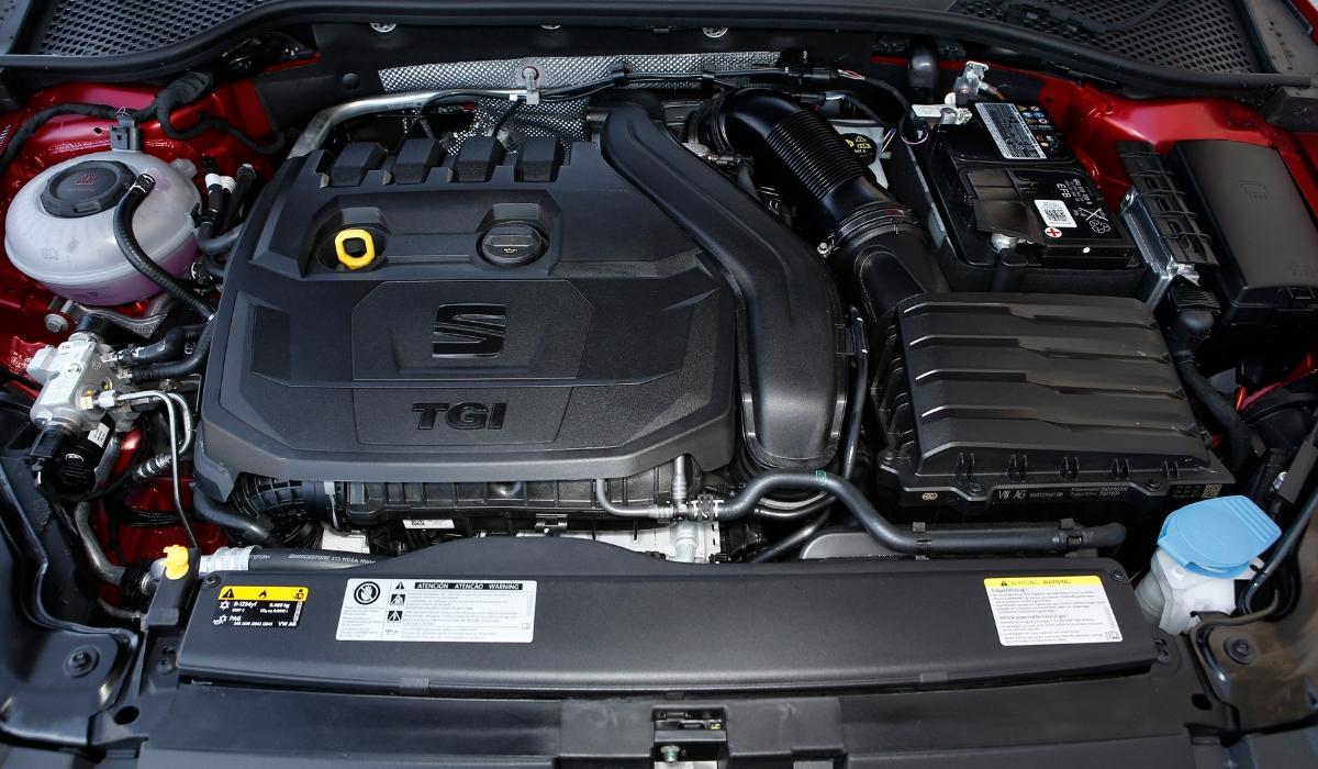 Nuova Seat Leon a metano 2019 motore