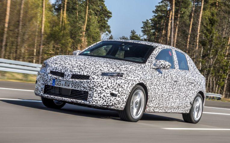 Peso di Nuova Opel Corsa 2019