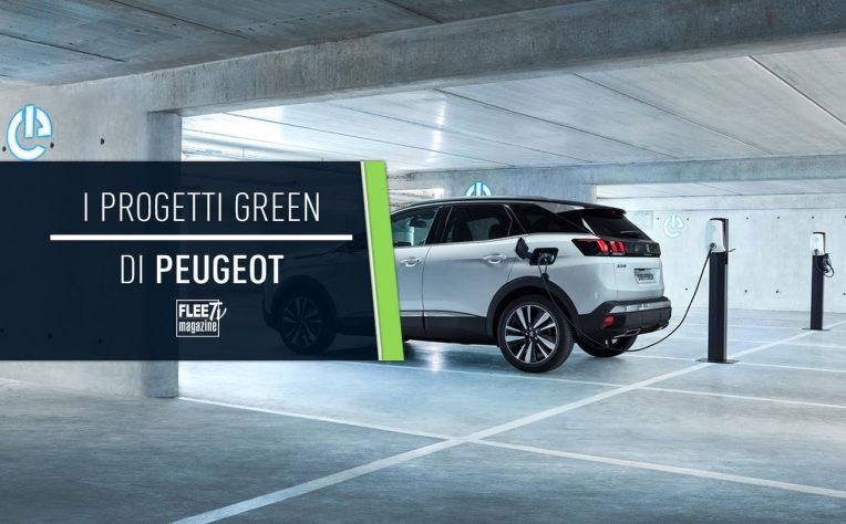 Peugeot strategie green