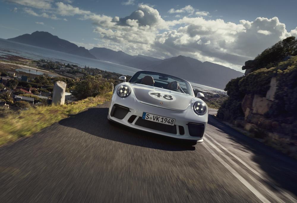 Porsche 911 Speedster Heritage Pack, caratteristiche