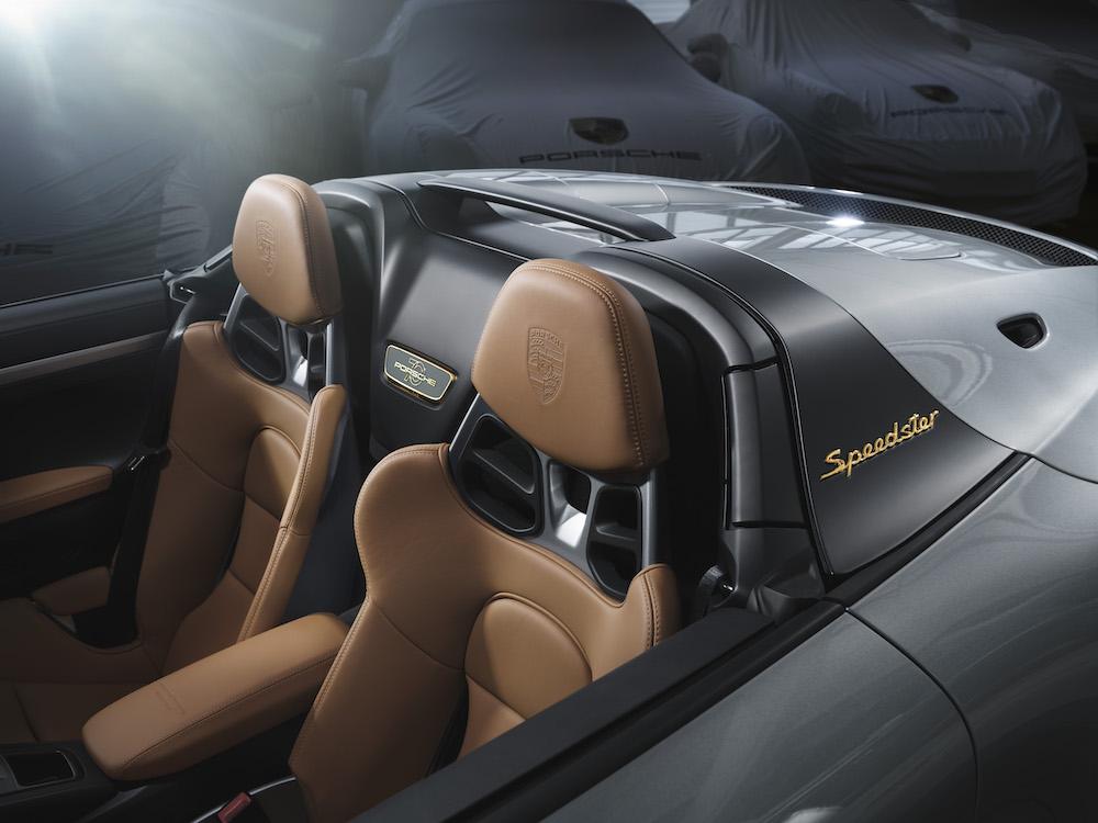 Porsche 911 Speedster Heritage Pack
