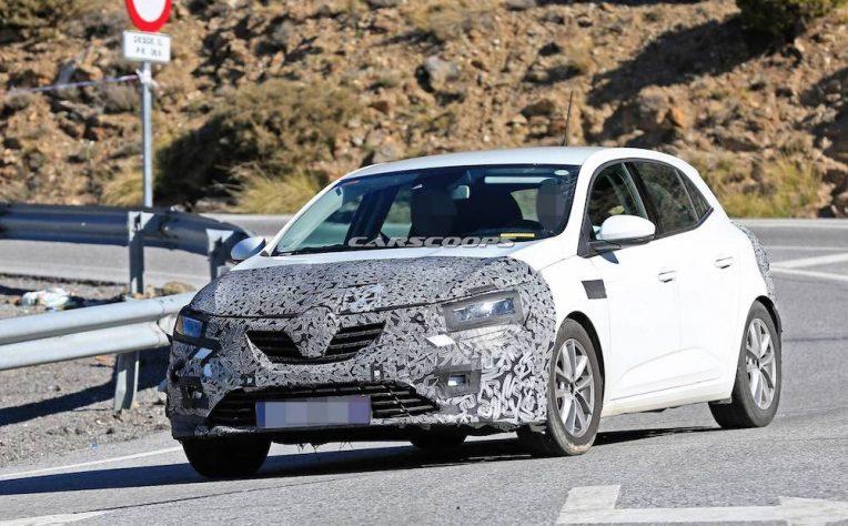 Renault Megane restyling 2020