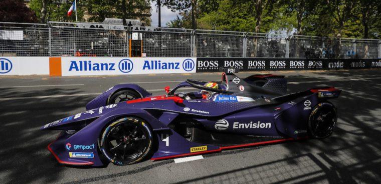 Robin Frijns ePrix Parigi Formula E