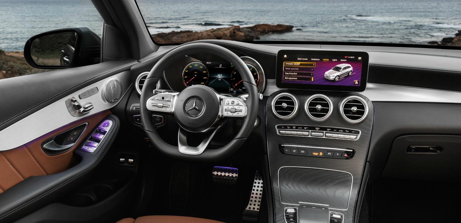 Tecnologia nuovo Mercedes GLC