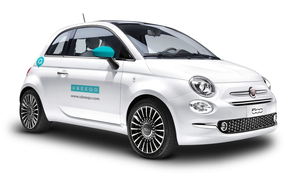 Sharing mobility Milano: Ubeeqo