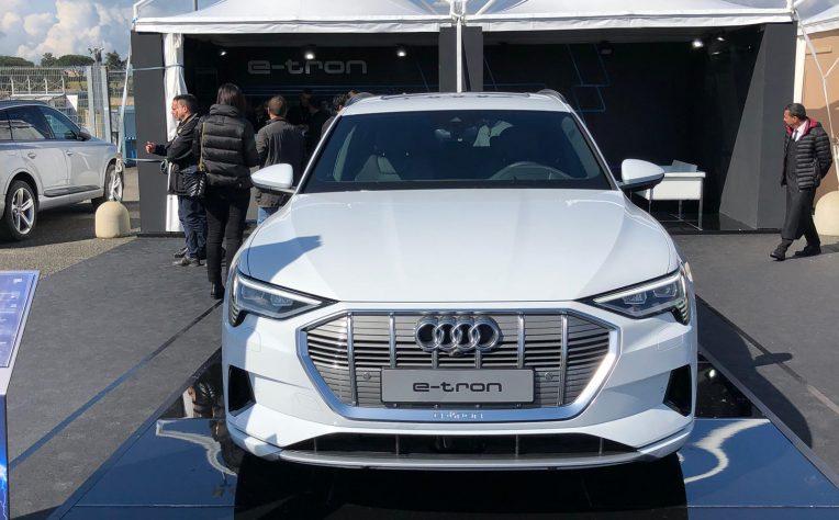 Audi e-tron Le anteprime auto al Fleet Motor Day 2019