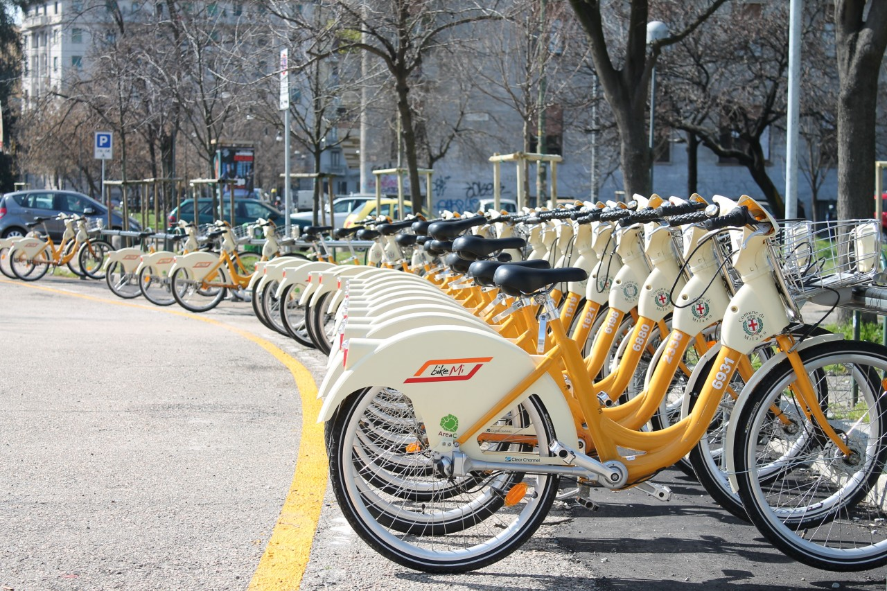 BikeMi: il bike sharing station based a Milano