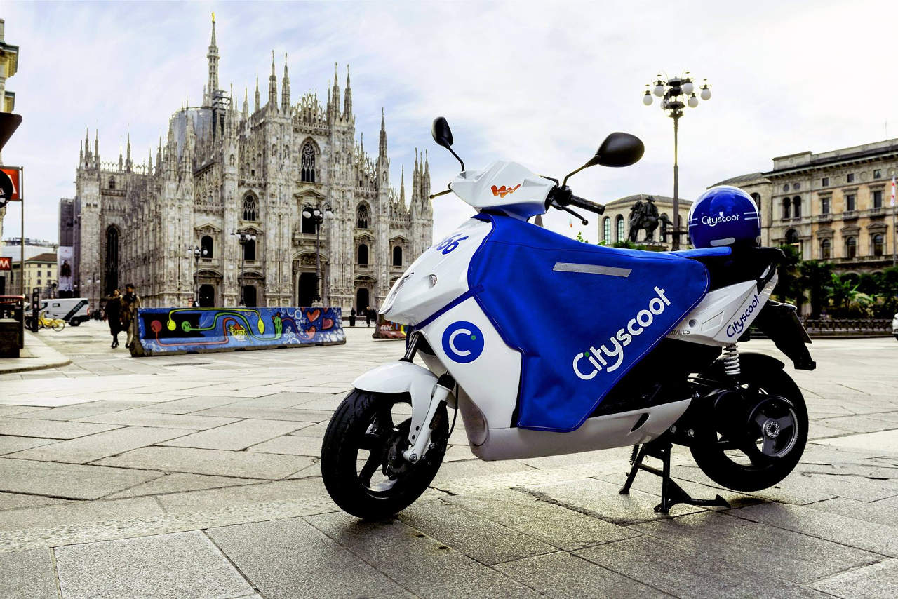 Cityscoot: scooter sharing elettrico a Milano