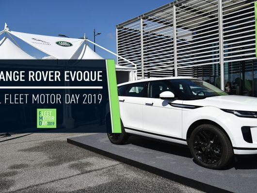 Nuova Land Rover Range Rover Evoque in anteprima al Fleet Motor Day 2019